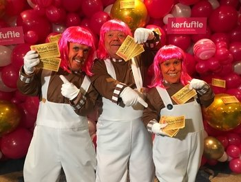 Winner of the Whaley Wonka Golden Ticket Competition Revealed